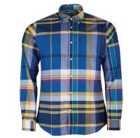Barbour Shirt - Highland 2 Mid Blue - MSH4418BL54